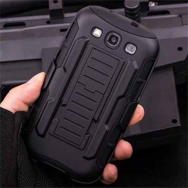 S3 Neo Heavy Duty Armor Hard Case For Samsung Galaxy I9301 S3 Neo S3 Duos GT-I9300i Belt Clip Holster Shockproof Phone Cover