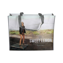 Custom Promotional bag PET nonwoven tote bag with heat transfer printing