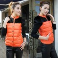 Ladies Down Short Design Coat Winter Cotton-padded Jacket Women Slim Solid Outerwear Plus Size