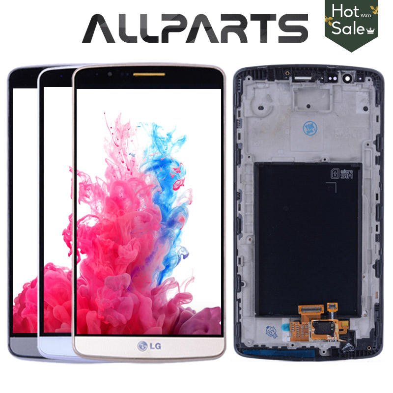 Original Tested Screen For LG G3 LCD Touch Screen Digitizer Assembly For LG G3 Display D850