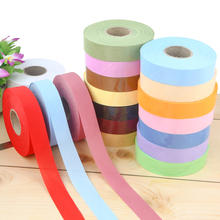 45 meters / Multicolor Polyester DIY Apparel Sewing Craft Ribbon Fabric Solid Color Patchwork Edging Width 3cm