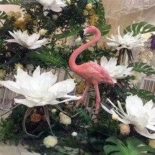 Large Foam Fake Flower Artificial Magnolia Wedding Background Wall Decoration Window Stage