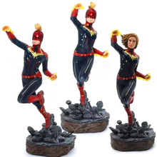 Captain Marvel Figure Toys Avengers Endgame Action Figurine Marvel Legends Model marvel legends series the defenders figure loose pack collection toys
