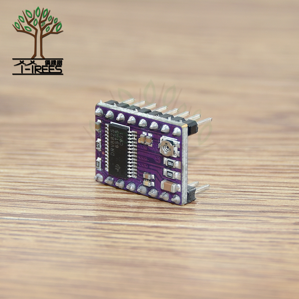 5pcs.3D Printer StepStick DRV 8825 DRV8825 Stepper Motor Driver Module Carrier Reprap 4-layer 4 layer PCB RAMPS 1.4 + Heatsink цена