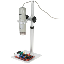 On sale mini digital USB Microscope camera OTG Function 8LED Digital Zoom biology Magnifier with Holder True 5.0MP Video Camera 1X-500X