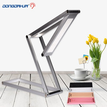 Timer Touch Control Eye-Protective Dimmable Rechargeable USB LED Aluminum Alloy Folding Desk Lamp