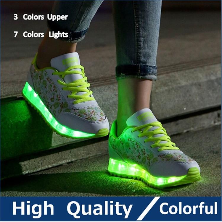 chaussure nike avec led