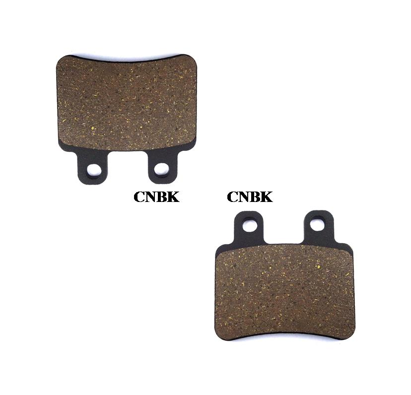 CNBK Front Brake Shoe Pads Semi-Metallic fit for APRILIA Street Bike 50 Tuono 03 04 2003 2004 1 Pair 2 Pads