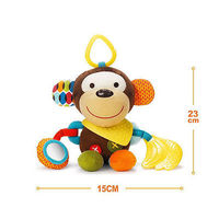 2016 New Baby Infant Preferred Soft Animal Appease Calm Doll Developmental Cute Toys