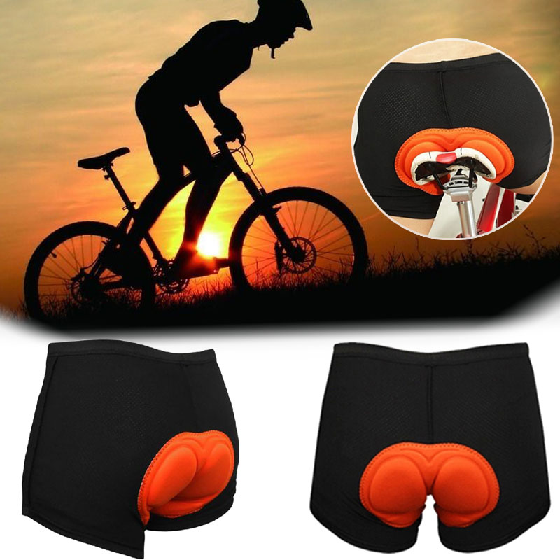 2019 New Popular Style 1× Sports Shorts 3D Padded Cycling Shorts Bike Flexible Underwear Bicycle MTB Pants Soft Gel Pad Men(China)