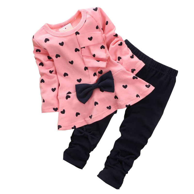 Baby-Girls-Spring-Autumn-Clothing-Sets-Bowknot-Lovely-T-Shirt-Pants-2pcsset-Infant-Clothes-Suits-1
