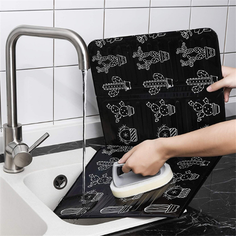 Water-proof Kitchen Oil Splash Guard Washable Cooking Protection Pad Against Gas Oil Splashing Plate High Temperature Resistance