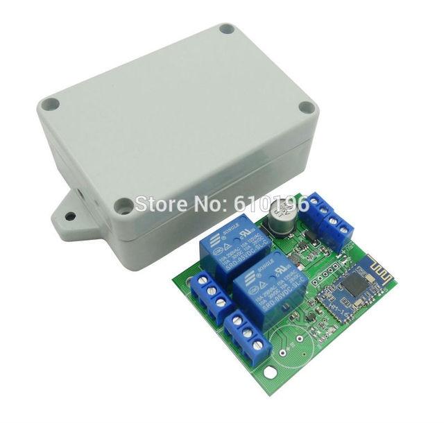 5 ШТ./ЛОТ 2 Реле Канала Модуль Bluetooth 4.0 BLE Переключатель для Apple Android Телефон IOT с Коробкой