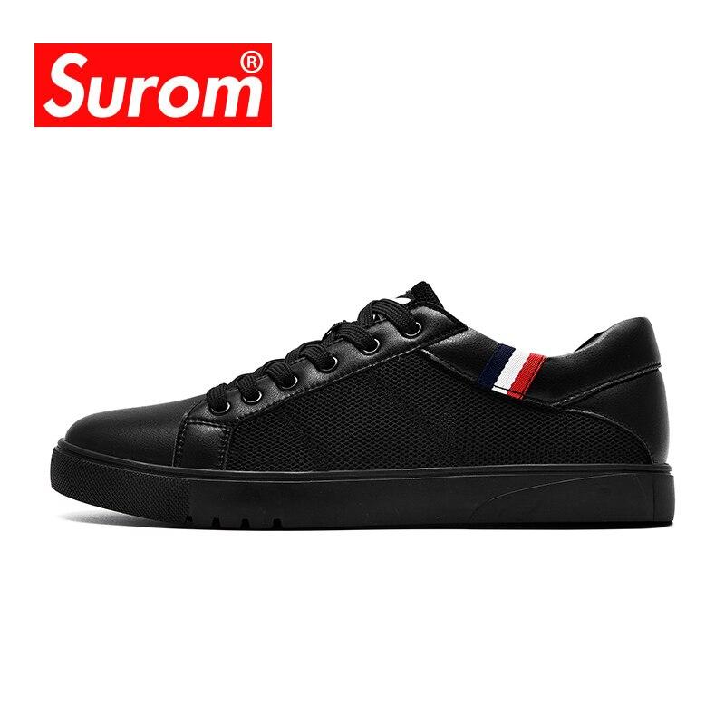 SUROM Tmallfs Dos Homens Em Sapatos de Caminhada Leve Respirável Homens  Sapatos de Verão 3d684d0e599
