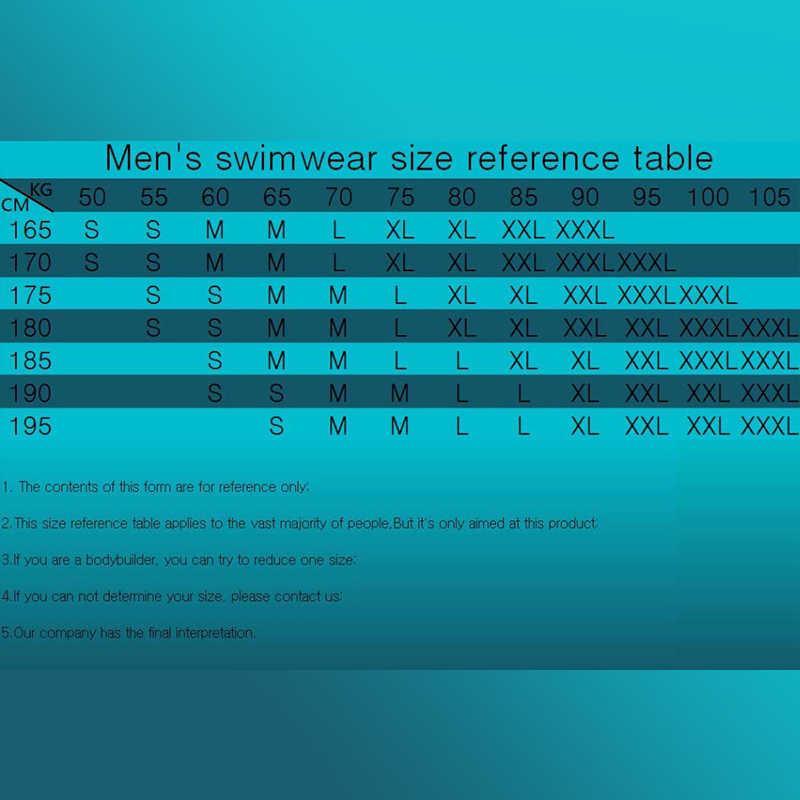 Pria Poliester Celana Pendek Musim Panas Pantai Surf Celana Cepat Kering Baju Renang Pria Berenang Celana Pendek dengan Kapal Renang Plus ukuran
