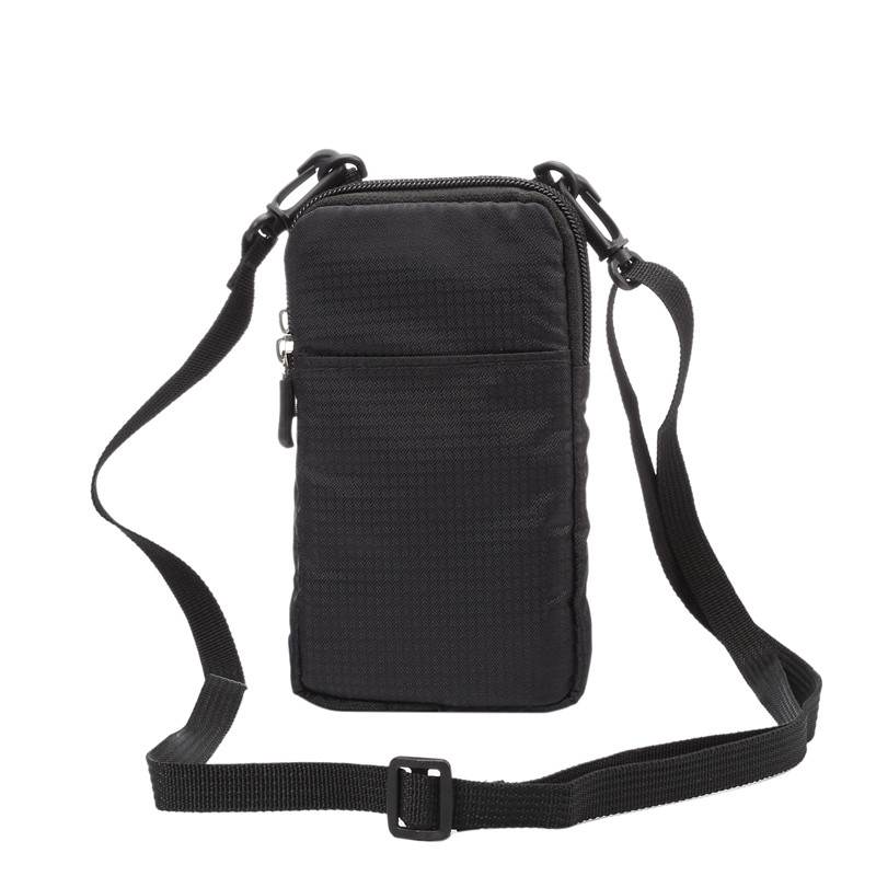 YIANG New Nylon Universal Wallet Mobile Phone Bag 6.0 Inch Mini Cross Body Shoulder Bags Pouch Portable Case For IPhone/Samsung
