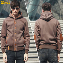 5Colors Men Sweatshirts Cardigans Autumn Spring Hoody Tops Casual Hoodies Men Male Streetwear Muls Brand Clothes M-3XL 2019 New(China)
