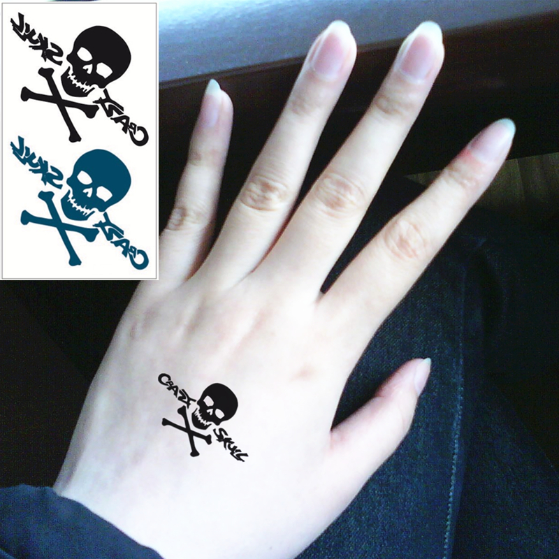 Small Skull Tattoo On Hand: Compare Prices On Small Skull Tattoos- Online Shopping/Buy