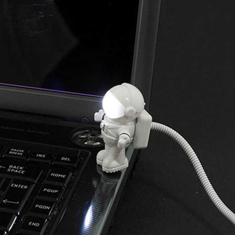 Litwod z90 + led lâmpadas de mesa luz da noite usb plug astronautas modelo novidade quarto do bebê presente romântico luzes candeeiro mesa