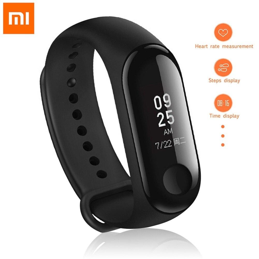 Englisch Version! Xiao mi mi Band 3 Smart Armband 0,78 zoll OLED Instant Nachricht Anrufer ID Wetter Forecate mi Band 3 Smart band