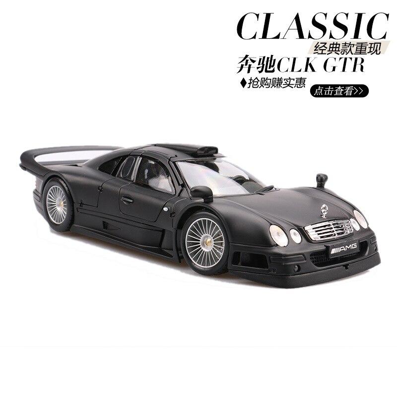 Maisto 1:18 Diecast Metall Auto spielzeug Modell Für Benz CLK GTR Sammlung Auto Modell Für Mann Geschenk Mit Original Box-in Diecasts & Spielzeug Fahrzeuge aus Spielzeug und Hobbys bei  Gruppe 1
