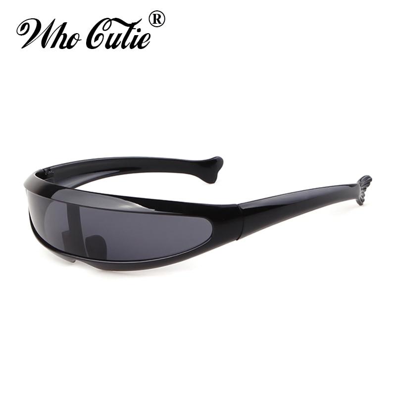 , Die Cutie 2019 Winddicht Visier Sonnenbrille Männer Frauen Onepeice Sunny Flache Top Brille Übergroßen Schild Roboter Sonne Brille Männlich 837 SchüTtelfrost Und Schmerzen