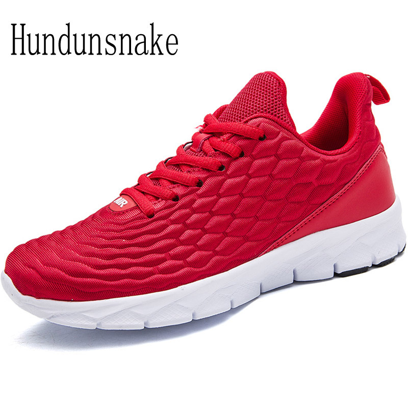 Hundunsnake Lightweight Red Sneakers Women 2018 Running Shoes Women s Sports Shoes Female Krasovki Ladies Jogging