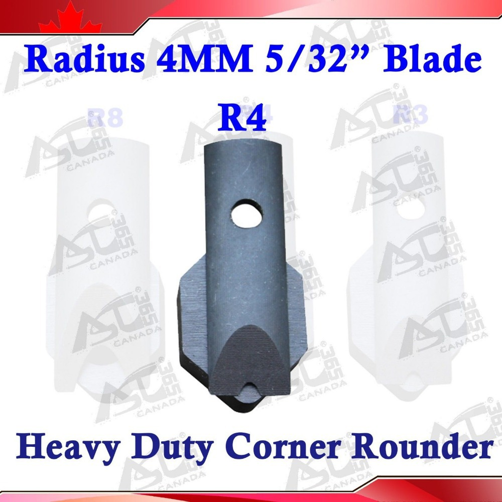 "5/32"" R4 Die Blades For Heavy Duty All Steel Corner Rounder Punch Cutter In Short Supply"
