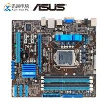Asus P7H55-M рабочего Материнская плата H55 разъем LGA 1156 i3 i5 i7 DDR3 16 г uATX распродажа