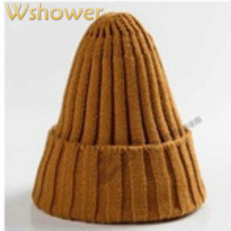 Which in shower Fashion Solid Men Women Knitted Bobble Baggy Beanie Skullies Warm Slouchy Winter Hat Chic Cap Casual Hip Hop Hat