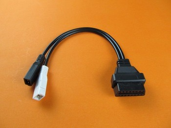 For A-udi for Skoda for VW VAG 2x2 KKL 2x2 to 16 Pin OBDII OBD2 Diagnostic Adaptor Connector Cable image