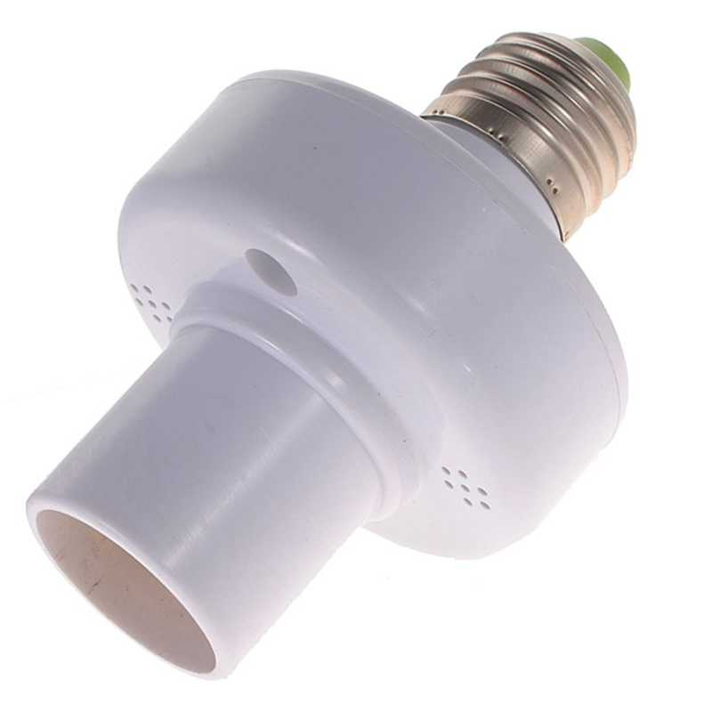 4pcs/lot Wireless Remote Control Light Lamp Bulb Holder Cap Socket Base Switch for E27 bulb with 4 in 1 Remote Controller