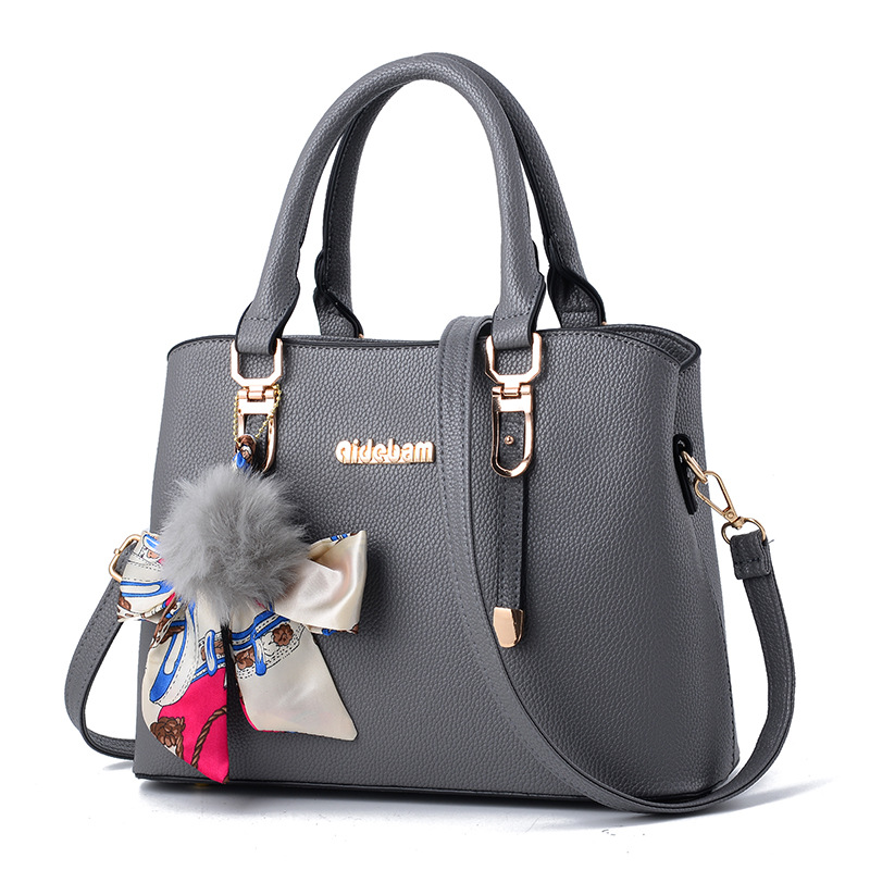 Top Handbags Brand Name Bag Las Handbagwomen Pu Leather Tote Lady Evening Bags Solid