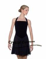Для женщин Фигурное катание Платья для женщин новые модные брендовые лед фигурное катание Платья для женщин конкурс для взрослых dr3485