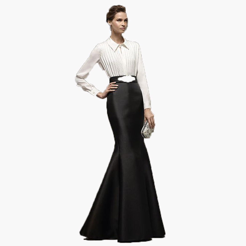 Long Black Evening Skirt Promotion-Shop for Promotional Long Black ...