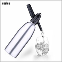 XEOLEO Portable Soda maker 1000ml Bubble water machine DIY Carbonated drink Na2CO3 Syphon machine Cocktail CO2 Soda Siphon Maker