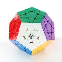 Dayan Megaminx 1 Plastica Magic Cube Stickerless Twisty Puzzle Giocattolo Educativo per I Bambini Regalo e Professionale Speedcubers