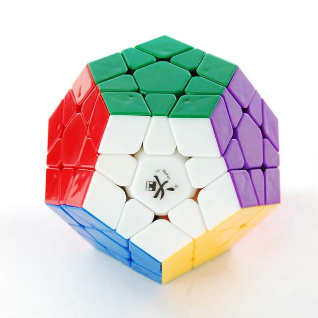 Dayan Megaminx 1 Plastic Magic Cube Stickerless Twisty Enigma Brinquedo Educativo para As Crianças Do Presente e do Profissional Speedcubers