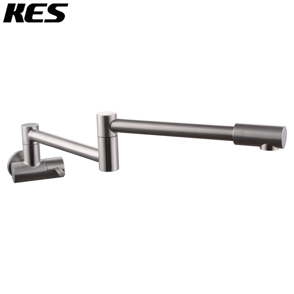 KES Lead Free Articulating Kitchen Faucet SUS 304