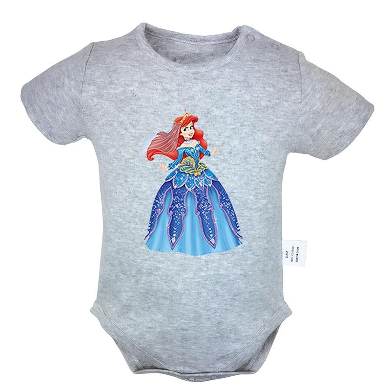 Newborn Kids Bodysuits Mermaid at Heart-1 Infant Long Sleeve Romper Jumpsuit