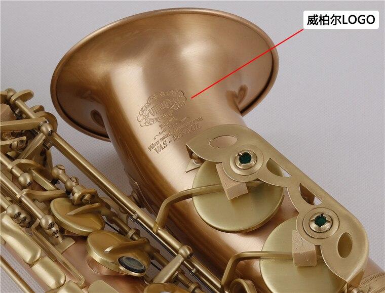2018 Nueva Llegada VIBRA 803AGL Alto Eb Tono de Saxofón Instrumentos - Instrumentos musicales