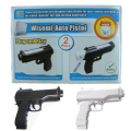 2x Pistol Shooting Light Gun Sport Video For Nintendo Wii Remote Controller Game Accessories # F2058