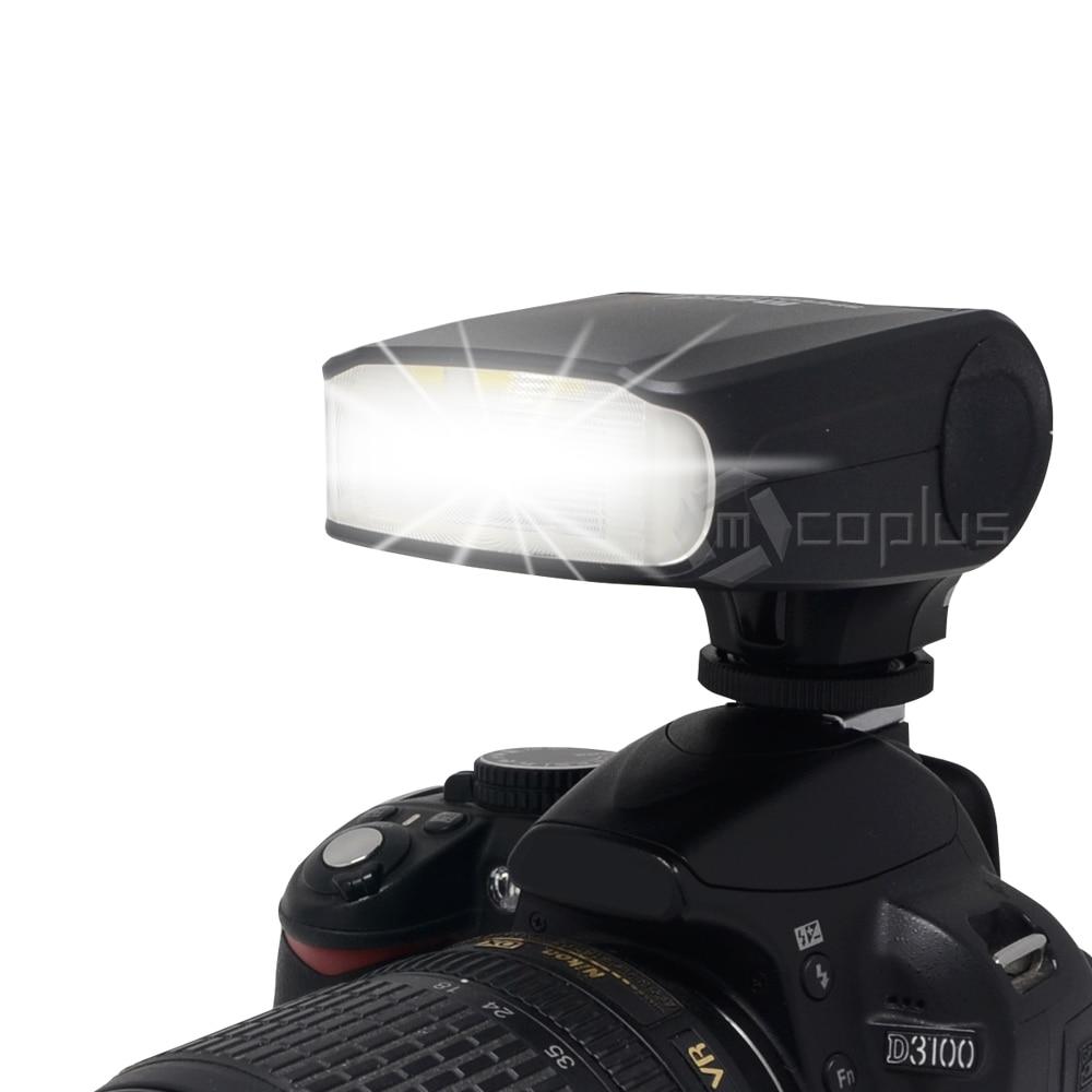 Meike MK-320 Mini Flash Speedlite MK-320C pour Canon 600D 6D 70D 700D 5D Mark III II 7D II 60D T3i T2 appareil photo reflex numérique