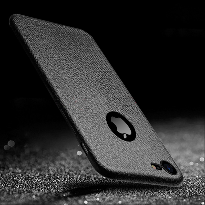 Luxury Retro Case For iphone 6s 6 s plus iphone 6 Soft Slim PU Leather Skin Plain Cover Housing For iPhone 7 Plus iphone 7 Cases