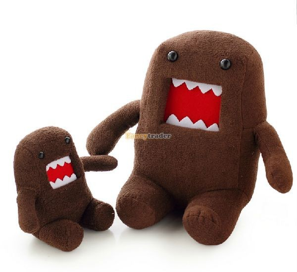 Fancytrader Novelty Toy! 20\'\' 50cm Super Cute Plush Soft Stuffed Big Mouth Domo Kun, Free Shipping FT50824 (9)