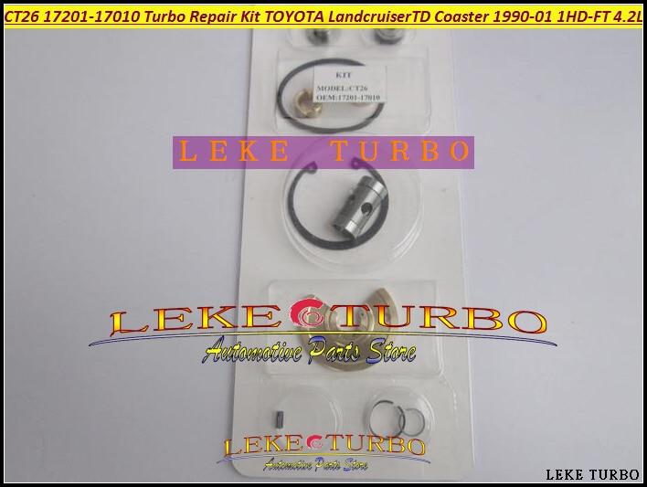 Turbo Repair Kit rebuild CT26 17201-17030 17201 17030 1720117030 For TOYOTA Landcruiser Land cruiser 95 1HD 1HD-FT 4.2L 204HP free ship water turbo repair kit rebuild ct16 17201 30080 turbocharger for toyota landcruiser hiace hi lux hilux 2kd 2kd ftv 4wd