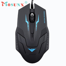 Optical Wired USB 3D Gaming Mouse Top Quality 1600 DPI 3 Buttons New Fashion LOL Hot Mice For Laptop Desktop PC Rato 17July11