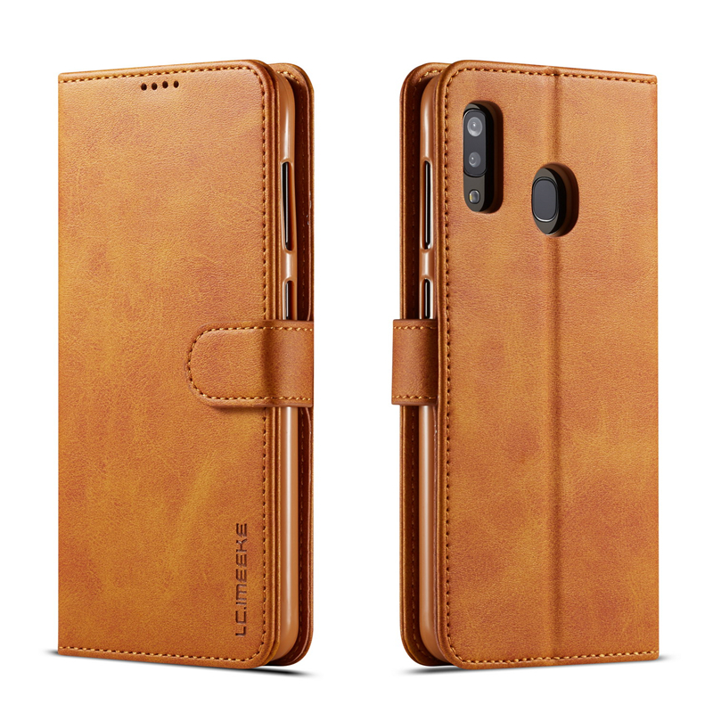 Vintage Leather Flip Case For <font><b>Samsung</b></font> A40 A50 A60 A30 A20 A10 M10 M20 Card Slot Wallet Cover For <font><b>Samsung</b></font> <font><b>A70</b></font> A80 A90 Case <font><b>Hoesje</b></font> image