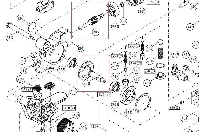 NBLXPMPP Plus Haute Qualité Le Plus Bas Prix Usine d'origine AQD-19 AQD-25 XQD-19 XQD-25 A19 A25 PET PP cerclage bande outil De Rechange partie