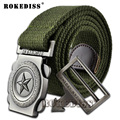 Five-pointed star outdoor The New Leisure men and women canvas high quality belt  fashion jeans men belts designers E022